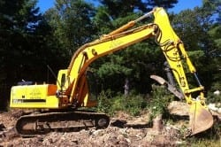 excavation work, ri